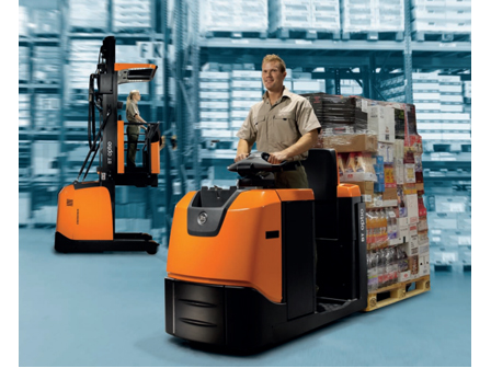 Xe nâng BT Optio OSE100 Low Level Order Picker
