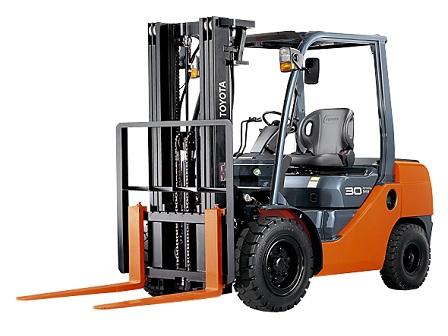 Xe nâng Toyota 1.5 – 3.5 tấn 8FD/FG Series