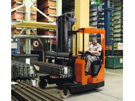 Xe nâng BT Reflex AC FRE270 Four-Way Reach Forklift