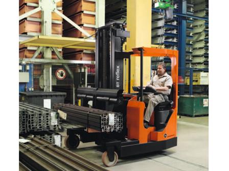 Xe nâng BT Reflex AC FRE270 Four-Way Reach Forklift