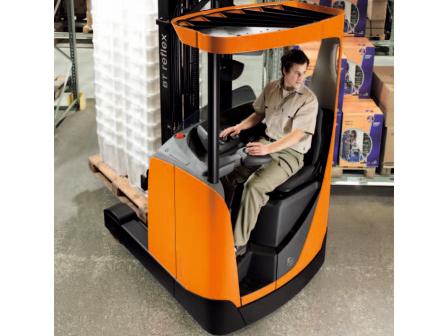 Xe nâng BT Reflex ColdStore 140-250CC Reach Forklift