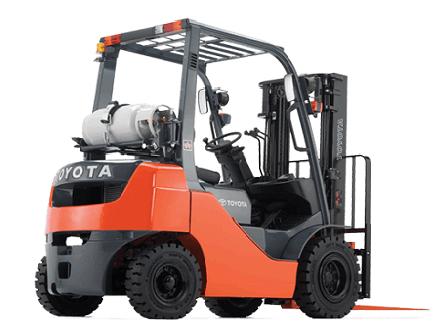 Xe nâng động cơ Xăng – Ga 1.5 – 3.5 tấn